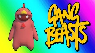 Video Gang Beasts Funny Moments - Red Chicken Fighting Champion! download MP3, 3GP, MP4, WEBM, AVI, FLV November 2017