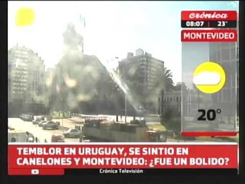 Temblor en Uruguay: Se sintió en Canelones y Montevideo