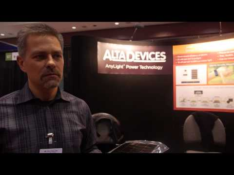 IDTechEx Interview with Alta Devices: Solar Cells Manufactured using Gallium Arsenide
