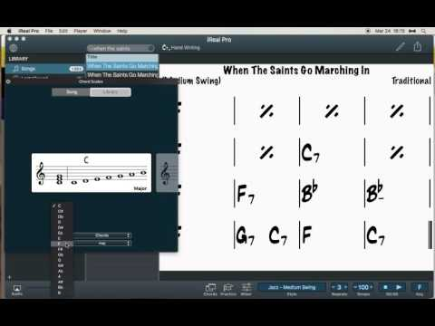 iReal Pro Chord Scales Location