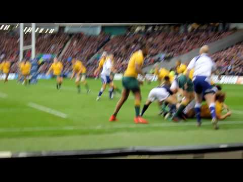 Scotland Australia 13 Nov 16 best bit from my seat