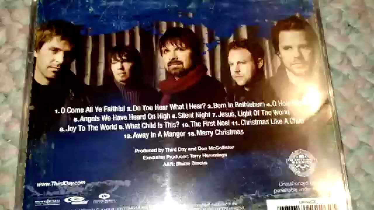 Third Day: Christmas Offerings - CD Unboxing! - YouTube