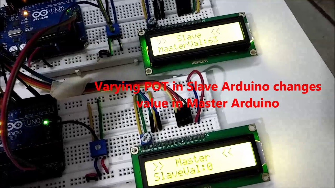 How to use I2C in Arduino: Communication between two Arduino Boards