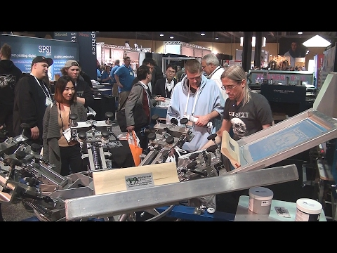 ISS Screenprinting Trade Show: Meeting With People And The Adventurous Drive