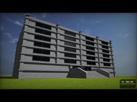 Apartment Block for use with GameGuru |