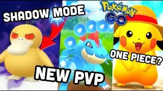 SHADOW POKEMON, NEW PVP MODE & 100% IV SEARCH IN POKEMON GO   ONE PIECE EVENT