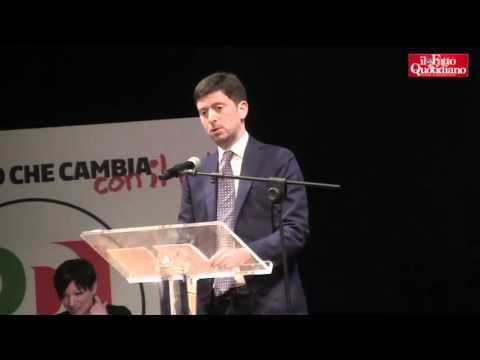 """Contro-Leopolda, Speranza (Pd): """"Trasformismo altro che rottamazione. Basta col segretario-premier"""""""