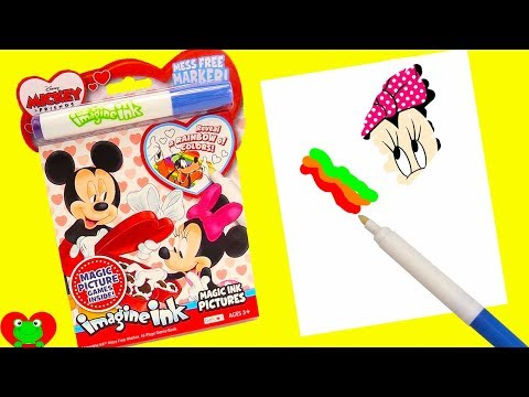 Mickey Mouse Clubhouse Friends and Minnie Coloring Book Imagine Ink