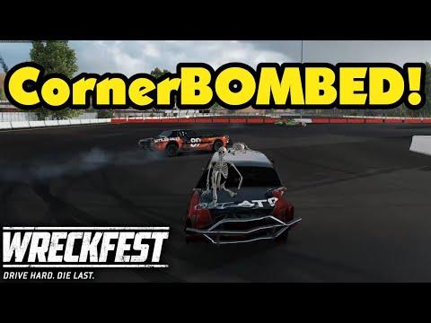 The Trophy Case Crash Backfired On Me! Wreckfest Ep112 Online Multiplayer