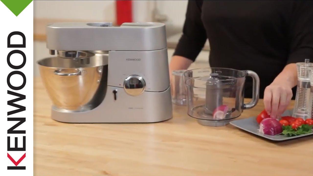 gamma completa di articoli bel design prevalente Food Processor AT647 | Attrezzature Optional Kenwood Chef | Video del  Prodotto (Italia)