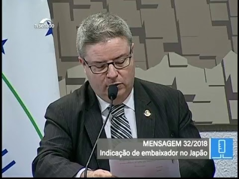 Sabatinas - TV Senado ao vivo - CRE - 24/05/2018