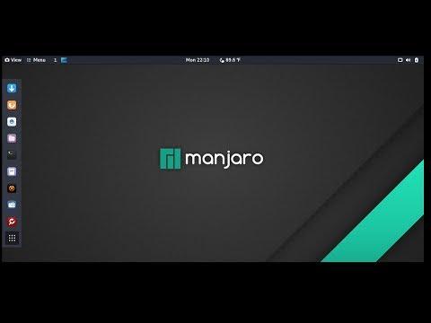 Установка Manjaro Linux с жёсткого диска
