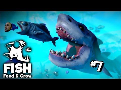 Mosasaurus'u Yiyen Yunus - Feed & Grow The Fish # 7