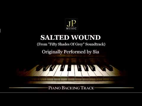 Salted Wound by Sia (Piano Accompaniment)