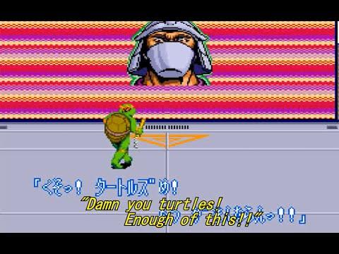 Teenage Mutant Ninja Turtles: Turtles in Time JPN (SNES) Subtitled Playthrough - NintendoComplete