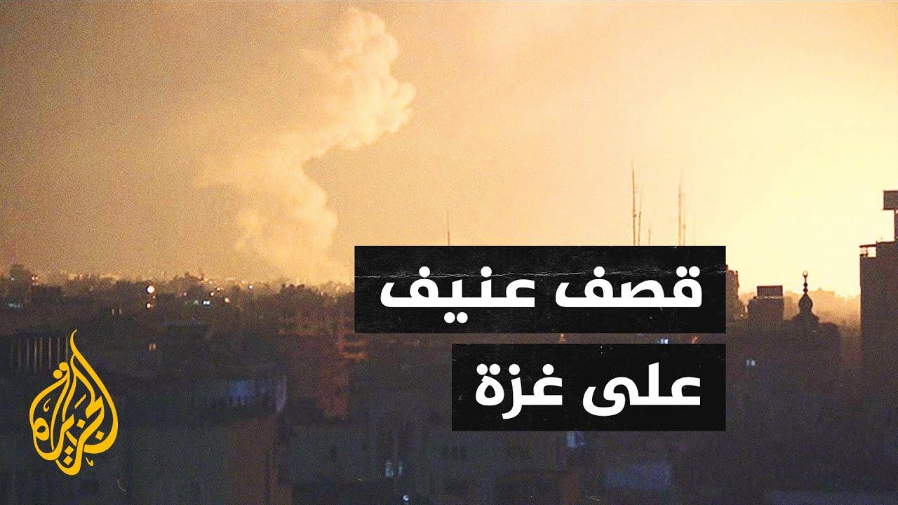 شاهد| قصف إسرائيلي عنيف على شمال قطاع غزة  - نشر قبل 7 ساعة