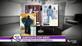 Mens Jumpsuits Are Back