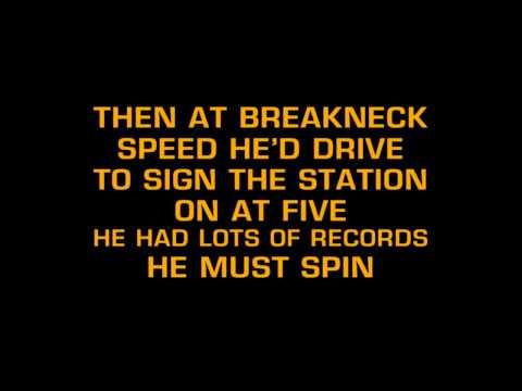 Stonewall Jackson - B. J. The D. J. (Karaoke)