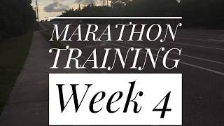 First Marathon Training Run Week 4 Hills
