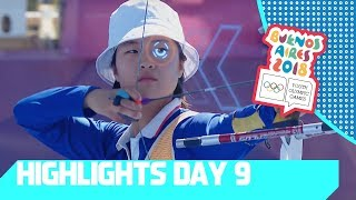 Sweden progress to Beach Volleyball Semis, Archery is Heating Up | YOG 2018 Day 9 | Top Moments