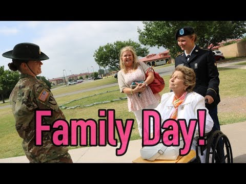 Basic Combat Training Family Day!