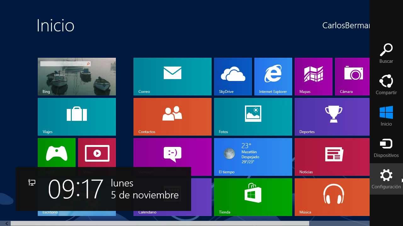 Tips, Trucos, Secretos Windows 8 Apagar, Reiniciar, Suspender ...