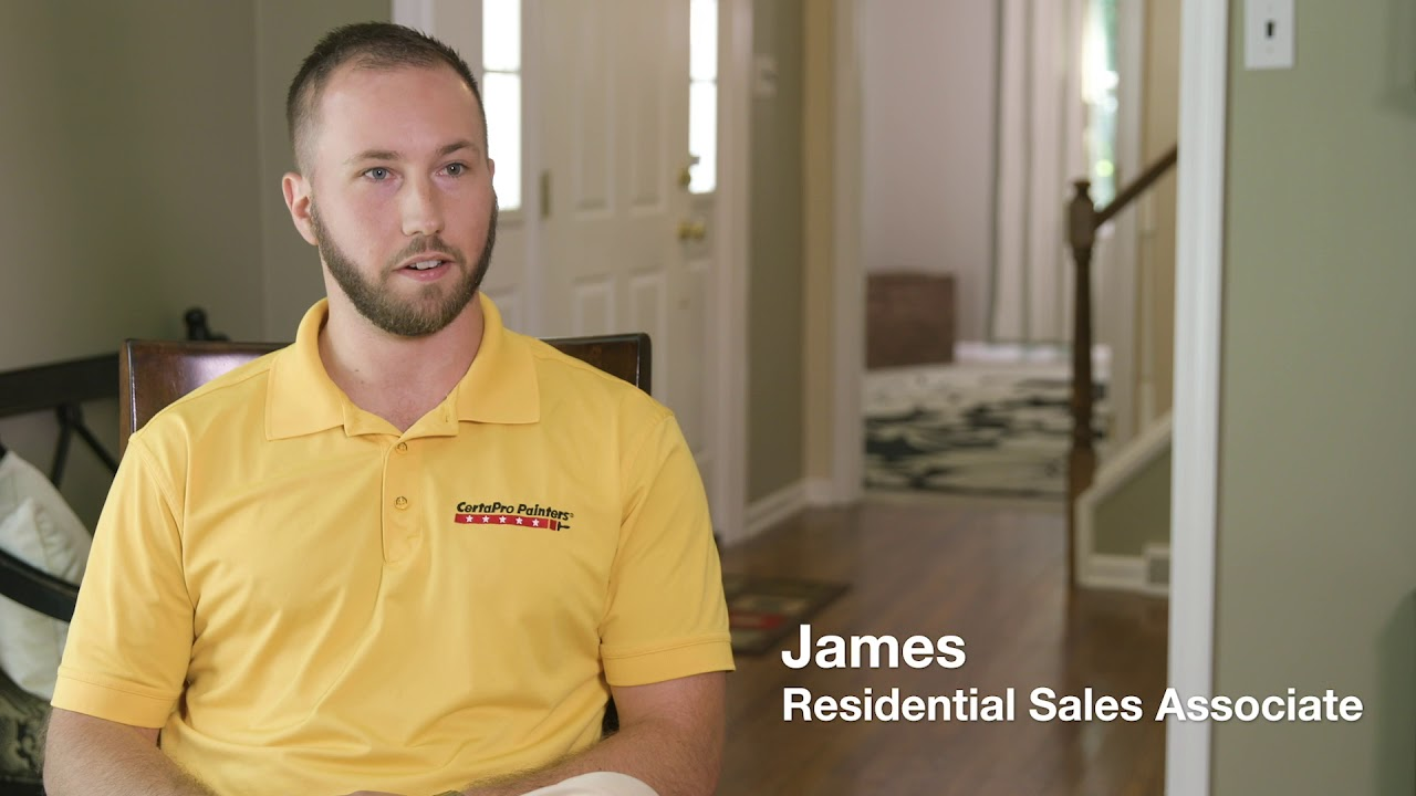 Why James loves working for CertaPro Painters® (RSA)