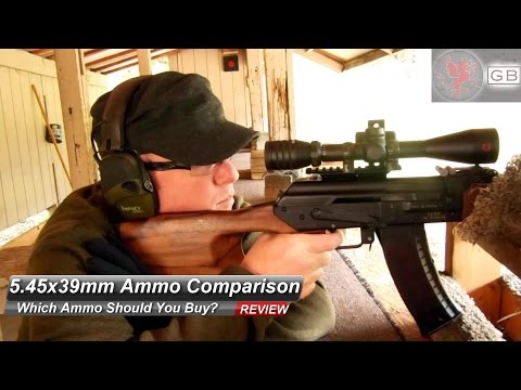 Watch Before You Buy: 5.45x39mm Ammo Comparison