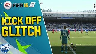 FIFA 16 GLITCH GOAL KICK TUTORIAL - THE PASSING TRICK - POSSESSION TIPS & TRICKS / FUT & H2H