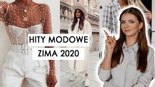 HITY MODOWE  ZIMA 2020 `| to jest teraz modne! | CheersMyHeels