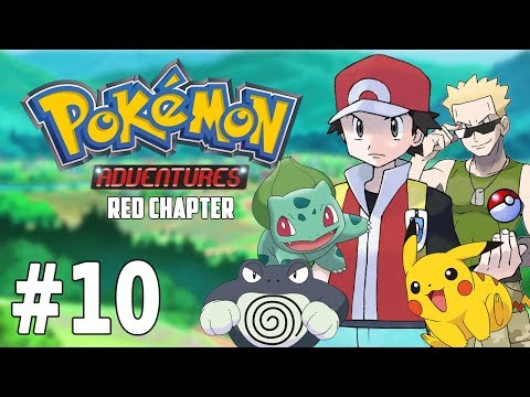 O ROUBO NO S.S. ANNE! POLIWRATH! - Pokémon Adventures Red Chapter #10 (GBA)