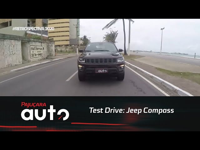 Retrospectiva 2020: Reveja o test drive do Jeep Compass