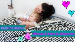 routine matin maman & bebe du Dimanche