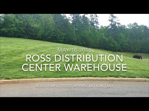 Ross Distribution Center Ware House May182016 4k Video Youtube