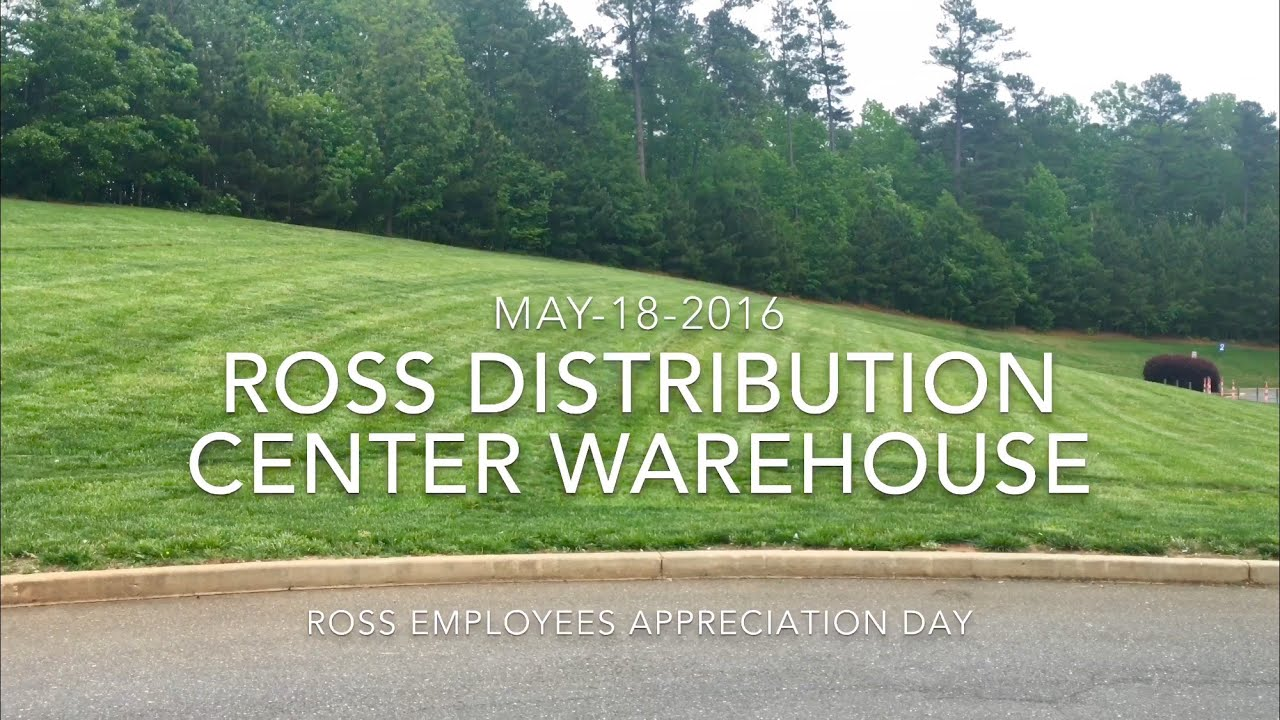 Ross Distribution Center Ware House May 18 2016 4k Video Youtube