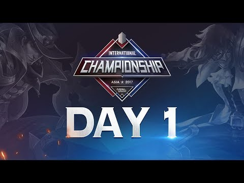 Arena of Valor International Championship: Asia 2017 Day 1