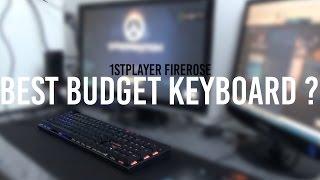 full key mechanical keyboard mureeee murah meriah   1st player mechanical keyboard review