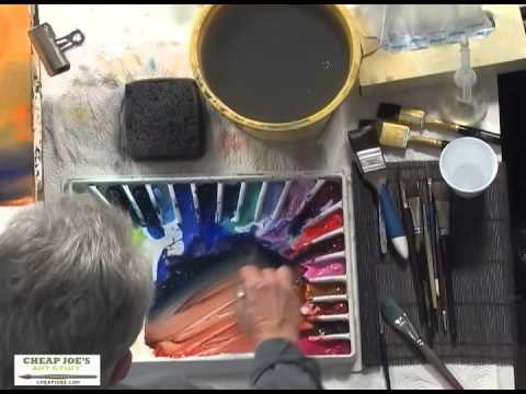 Painting a Country Scene Pt1 with Watercolor Artist Frank Francese