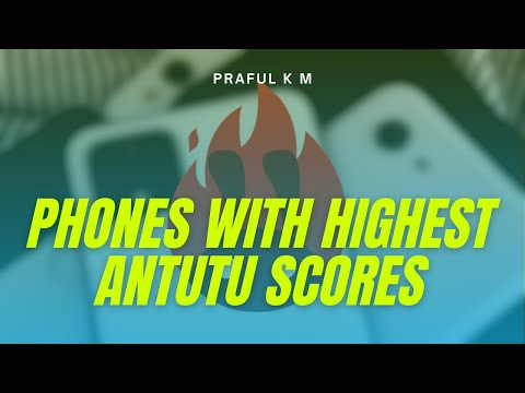 Top 5 Best Flagships Based on AnTuTu Benchmarks 2018  - Which phone is the best? - Praful Tech