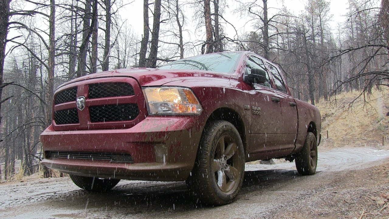 2013 Hemi Ram 1500 Snowy Amp Muddy Off Road Review Youtube