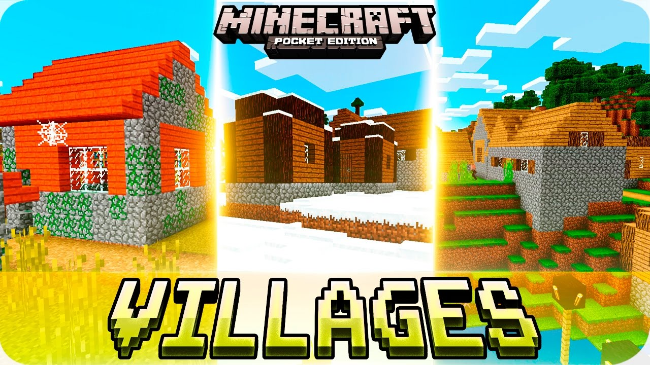 minecraft village seeds