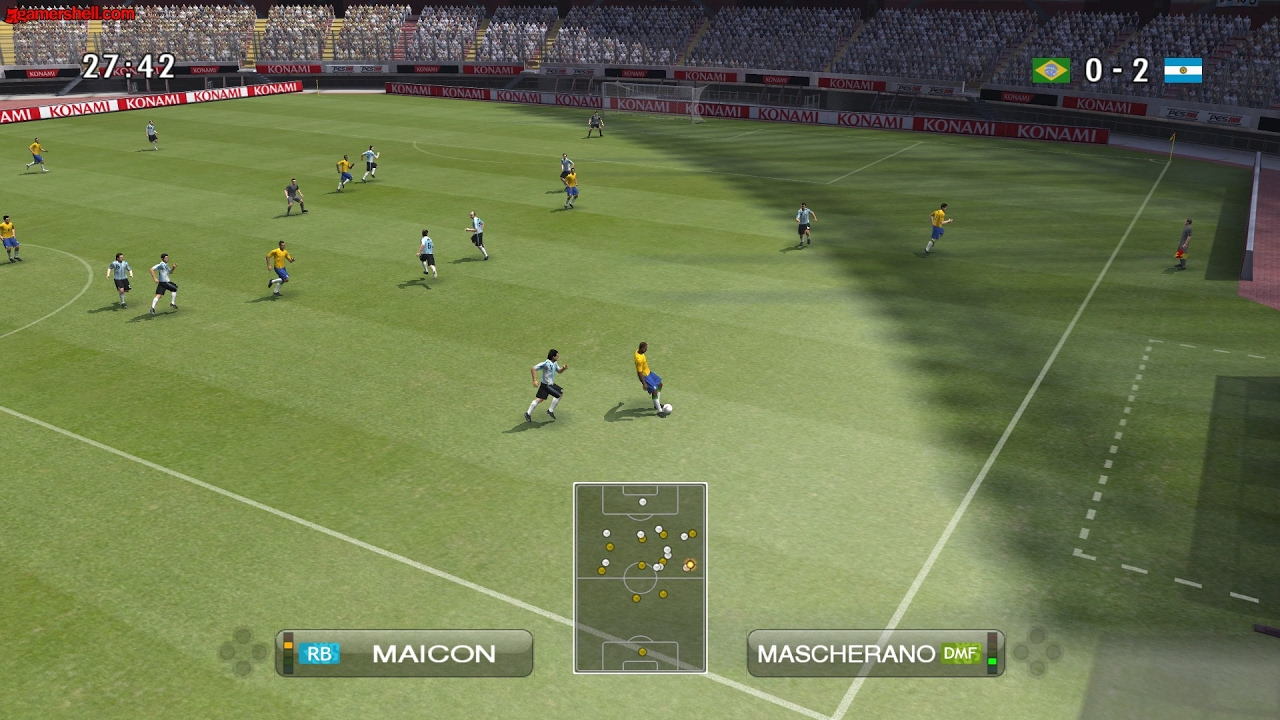 Game play pes 2013 on android with emulator psp youtube.