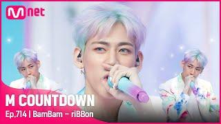 [BamBam - riBBon] Solo Debut Stage   #엠카운트다운 EP.714   Mnet 210617 방송