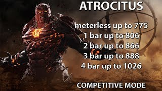 Injustice 2: Atrocitus combo guide. Beginner/advanced. Damage up to 1026. Get ready to be mixed!