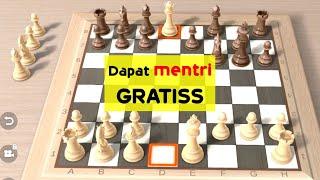 Pembukaan Catur Mematikan | RAHASIA Trik Catur Putih Paling Tajam Menyerang | Tennison Gambit screenshot 3