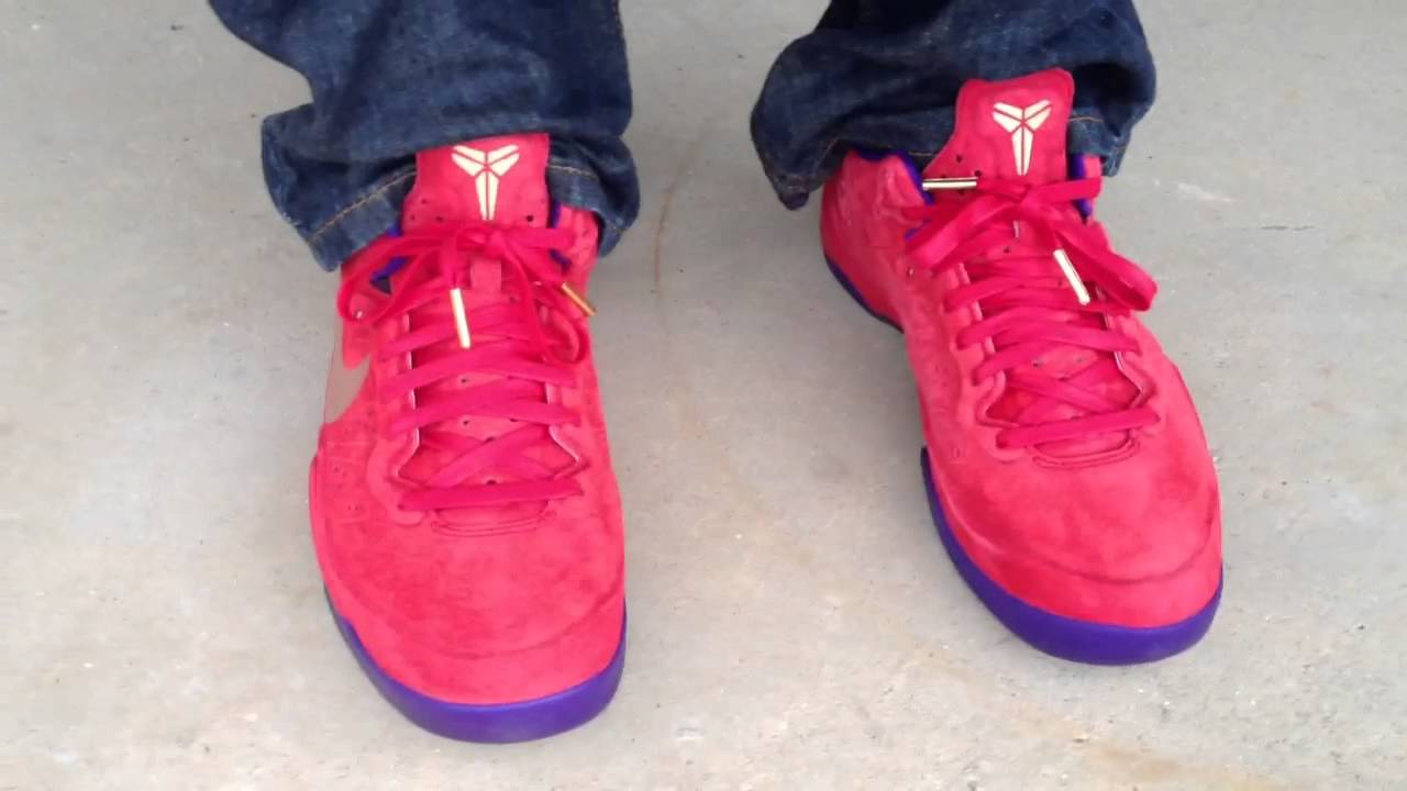 "Nike Zoom Kobe 8 EXT ""Red Suede"" ""YOTS"" ""Year Of The Snake ..."