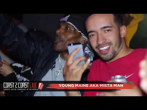 Young Maine Aka Mista Man Performs at Coast 2 Coast LIVE | Cleveland Edition 4/24/18