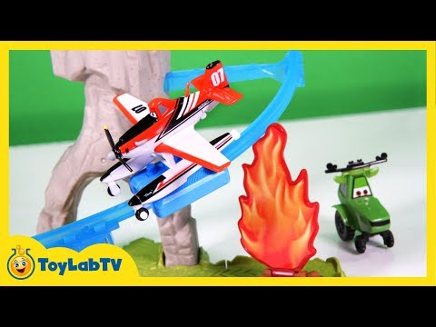 Disney Planes Fire And Rescue Toys Dusty Windlifter Bla
