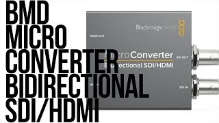 BlackMagic Design Micro Converter Bidirection SDI HDMI