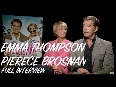 Pierce Brosnan & Emma Thompson Interview